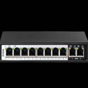 سوئیچ شبکه مدل DES-F1010P-E دی-لینک