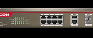 سوئیچ شبکه مدل S3300-10-PWR-M آِی پی کام