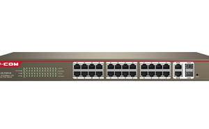 سوئیچ شبکه مدل S3300-26-PWR-M آِی پی کام